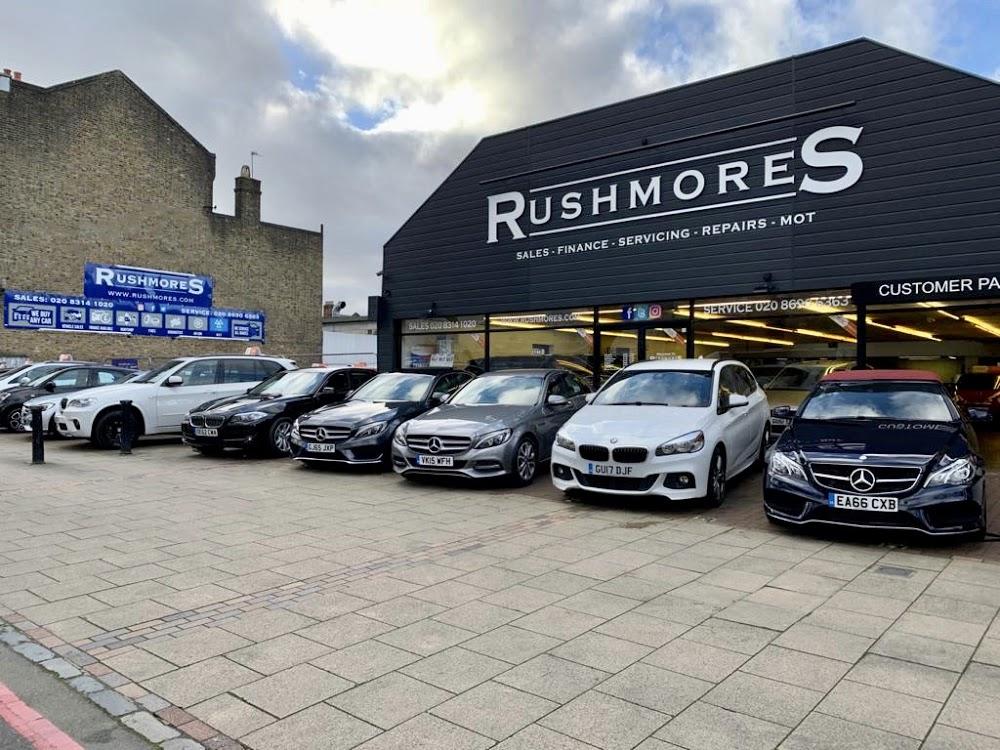 Rushmores and Hawstead Garage
