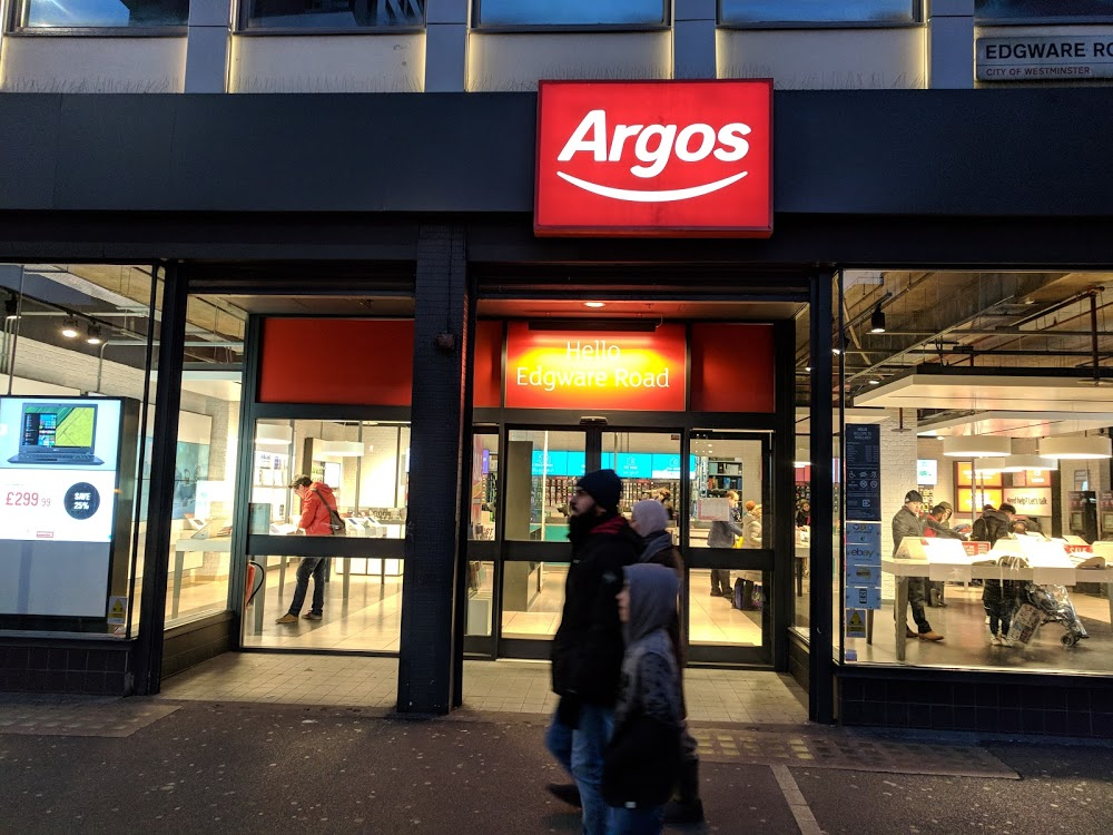 Argos Marble Arch and EE Store